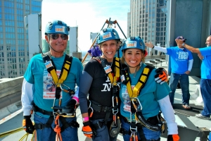 rappellers smiling